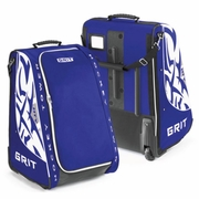 Grit HTY Tower Youth Wheeled Hockey Bag - Toronto Maple Leafs