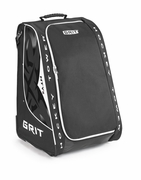 Grit HYSE Tower Wheeled Youth Hockey Bag - 30 Inch - Black