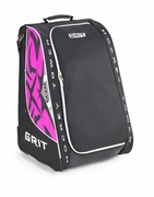Grit HYSE Youth Wheeled Tower Hockey Bag - 30 Inch - Diva
