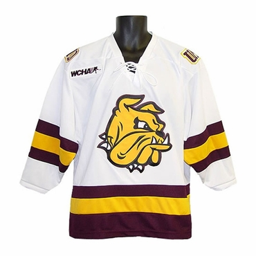 K1 College Line Junior Hockey Jersey - MN Duluth Bulldogs