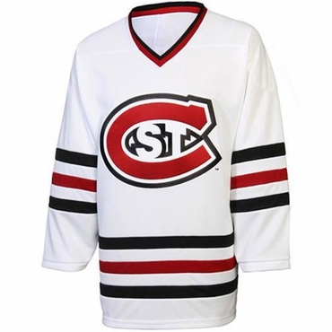 K1 College Line Junior Hockey Jersey - St. Cloud Huskies