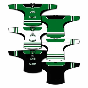 K1 College Line Hockey Jersey - University of North Dakota - Youth