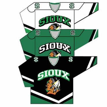 K1 College Line Youth Hockey Jersey - Univ. of North Dakota