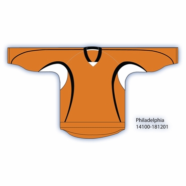 Kamazu 14100 Flexx Lite Team Hockey Jersey - Philadelphia Flyers - Orange - Senior