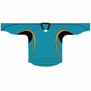 Kamazu 14200 Flexx Lite Team Hockey Jersey - San Jose Sharks - Youth