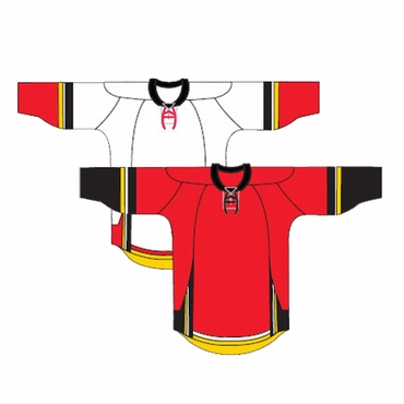 Kamazu 20100 FlexxICE Team Senior Hockey Jersey - Calgary Flames