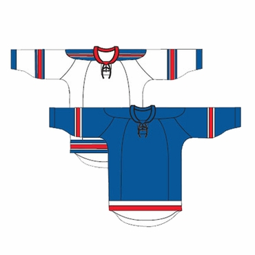 Kamazu 20100 FlexxICE Team Hockey Jersey - New York Rangers - Senior