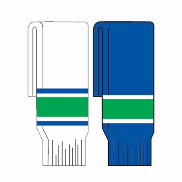 Kamazu FlexxIce Team SK200 Hockey Socks - Vancouver Canucks - Junior