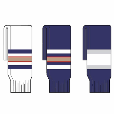 Kamazu FlexxIce Team SK200 Hockey Socks - Edmonton Oilers - Senior