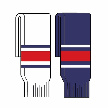 Kamazu FlexxIce Team SK200 Junior Hockey Socks - Columbus Blue Jackets