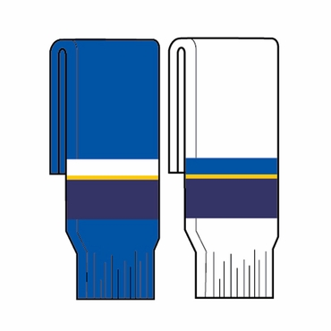 Kamazu FlexxIce Team SK200 Hockey Socks - St. Louis Blues - Youth