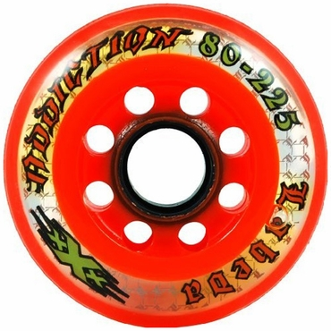Labeda Addiction XXX Inline Hockey Wheels - Orange