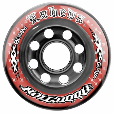 Labeda Addiction XXX Limited Edition Inline Hockey Wheels - Black/Red