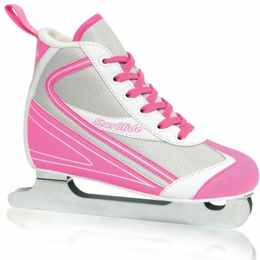 Lake Placid Double Runner Recreational Ice Skates - Girls