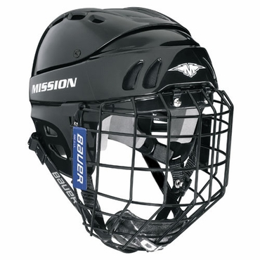 Mission 1505 Hockey Helmet w/Cage