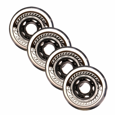Mission BSX Outdoor Inline Hockey Wheels - 4 Pack - 2010