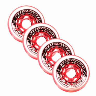 Mission CSX Mulit-Surface Inline Hockey Wheels - 4 Pack