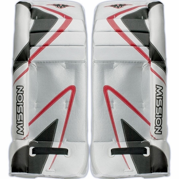 Mission Grommet Junior Hockey Goalie Leg Pads
