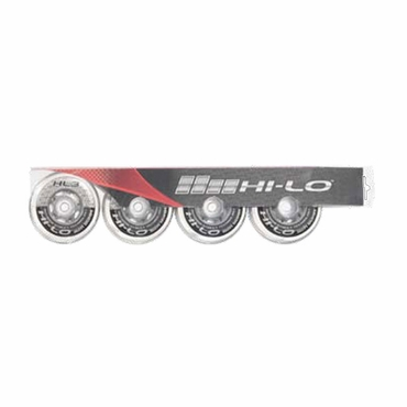 Mission Hi-Lo HL:3 Outdoor Inline Hockey Wheels - 4 Pack