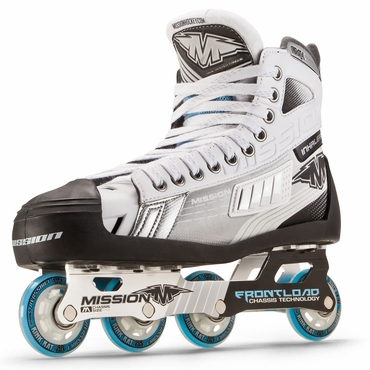 Mission Inhaler FL1 Goalie Senior Inline Hockey Skates