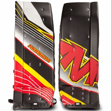 Mission Slyde Series Inline Hockey Goalie Pads - Junior
