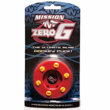 Mission Zero G Inline Hockey Puck