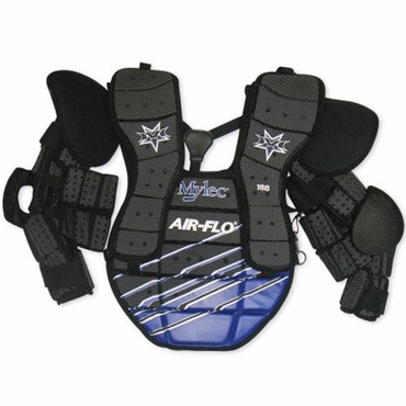 Mylec 188 Air Flo Chest Protector with Full Arm Pads - Senior