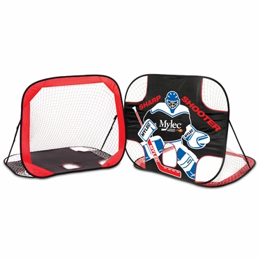 Mylec All Purpose Pop Up Hockey Goal with Carry Bag - 54 Inch