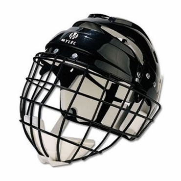 Mylec Helmet with Wire Face Guard - Junior