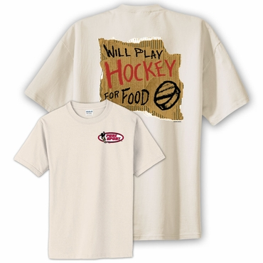 Pure Sport Play Hockey For Food Senior Short Sleeve Hockey Shirt