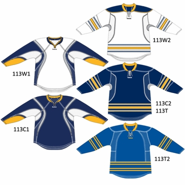 RBK 25P00 Junior NHL Edge Gamewear Hockey Jersey - Buffalo Sabres