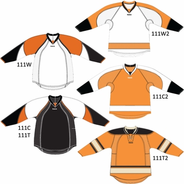 RBK 25P00 Junior NHL Edge Gamewear Hockey Jersey - Philadelphia Flyers