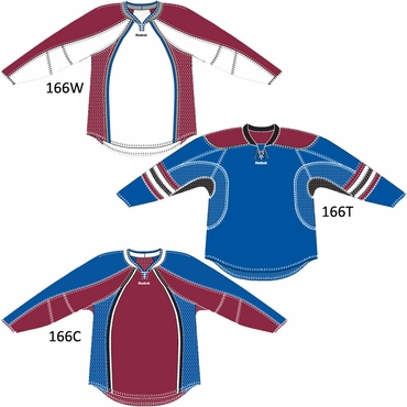 RBK 25P00 NHL Edge Gamewear Hockey Jersey - Colorado Avalanche