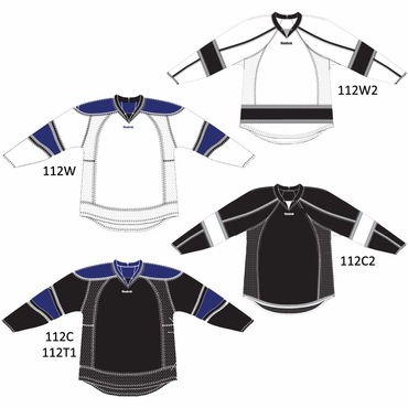 RBK 25P00 NHL Edge Gamewear Hockey Jersey - Los Angeles Kings