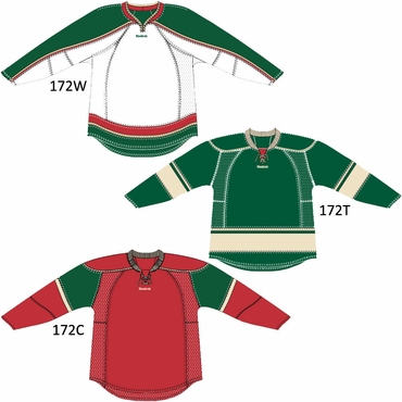 RBK 25P00 NHL Edge Gamewear Hockey Jersey - Minnesota Wild