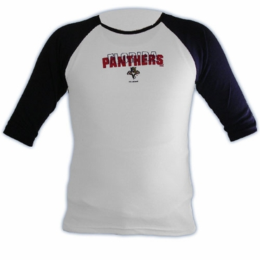 RBK 5032 The Territory 3/4 Sleeve Hockey Shirt - Florida Panthers - Women