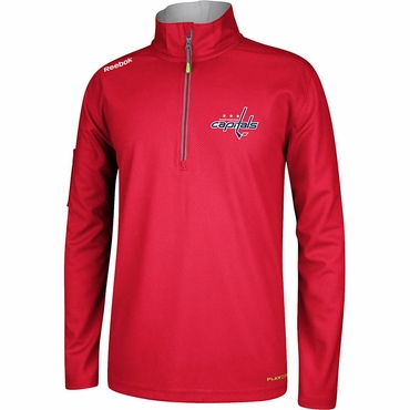 RBK Center Ice Hockey Quarter Zip Jacket - Washington Capitals - Senior