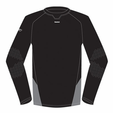 RBK Lite is Right Compression Long Sleeve Hockey Shirt - Senior