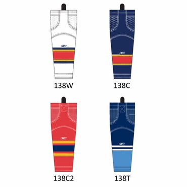RBK SX100 NHL Edge Hockey Socks - Florida Panthers - Intermediate