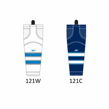 RBK SX100 NHL Edge Intermediate Hockey Socks - Winnipeg Jets