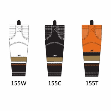 RBK SX100 NHL Edge Hockey Socks - Anaheim Ducks - Junior