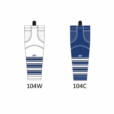 RBK SX100 NHL Edge Junior Hockey Socks - Toronto Maple Leafs