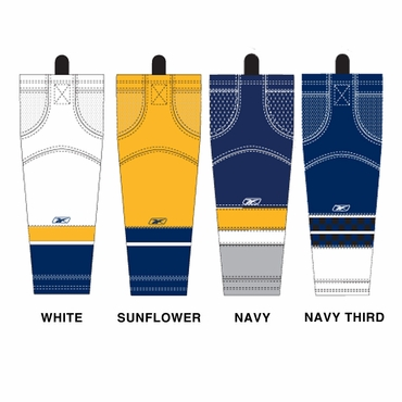 RBK SX100 NHL Edge Hockey Socks - Nashville Predators - Senior