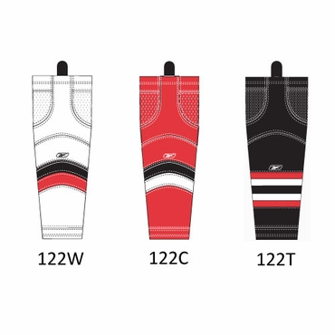 RBK SX100 NHL Edge Hockey Socks - Ottawa Senators - Senior