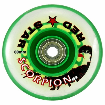 Red Star Scorpion Indoor Inline Hockey Wheels