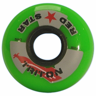 Red Star Triton Outdoor Inline Hockey Wheels