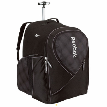 Reebok 10K Senior Wheeled Hockey Backpack Bag - 17 Inch