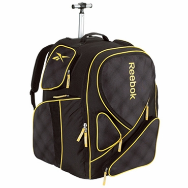 Reebok 10K Senior Wheeled Hockey Backpack Bag - 18 Inch