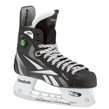 Reebok 11K Black Pump Senior Ice Hockey Skates