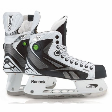 Reebok 20K Pump Junior Ice Hockey Skates - White